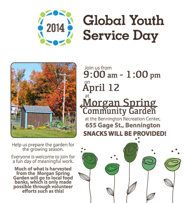 Global Youth Service Day 2014