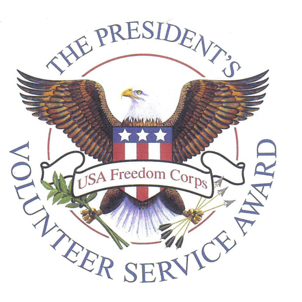 Fantastic Presidents Volunteer Service Award Alliance For Community Short Hairstyles Gunalazisus