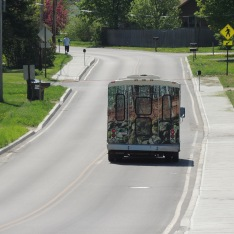 The local bus in Bennington is an eco-friendly travel choice for both short-range and long-range commuters. By using public transportation instead of a car, you reduce your carbon footprint on the earth considerably.