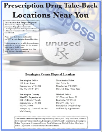 Rx take back locations