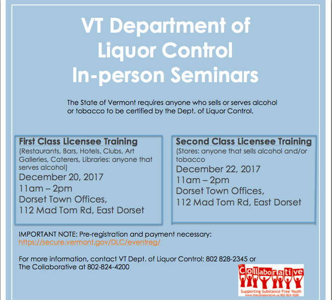 Liquor Control Trainings